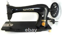 Antique Industriel Singer 16k33 Machine À Coudre Lourde 16-33 Denim Leather