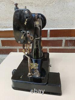 Antique Petit Gant Machine À Coudre Singer 91k5 1936 + Boîte Originale Jamais Utilisé