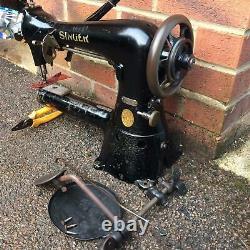 Antique Singer 17-16 Cylindre Bras Machine À Coudre Industrielle