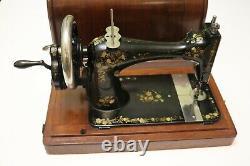 Antique Singer 1886 Machine À Coudre En Bon État De Fonctionnement(10566179)
