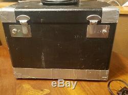 Antique Singer 221 Machine À Coudre Poids Plume Accessoires Pedal Case Nice 1949