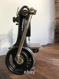 Antique Singer 24 Machine À Coudre En Chaîne Industrielle