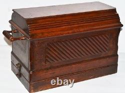 Antique Singer 28k Hand Crank Machine À Coudre C1899 Livraison Gratuite Pl2167