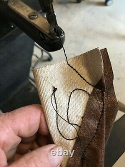 Antique Singer 29-4 Industrial Cobblers Treadle Sewing Machine Cuir G9237650