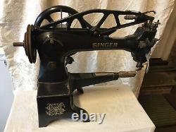 Antique Singer 29k58 Heavy Duty Leather Patcher Machine À Coudre