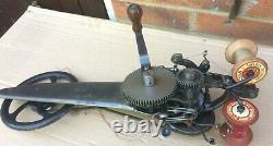 Antique Singer 35-k1 Industrial Carpet Chain-stitch Machine À Coudre