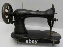 Antique Singer Tête De Machine À Coudre Fond De Violon Industriel 1883 # 5558350 Ouvrages