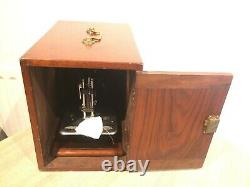 Antique Wilcox Et Gibbs Chainstitch Handcrank Machine À Coudre