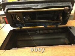 Atq. Au Début Des Années 1900 Chanteur Treadle Machine À Coudre Modèle G726773 Withoak Cab. (mar21)