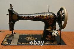 Au Début Des Années 1900 N 27-4 Machine À Coudre Chanteur En Très Bon État