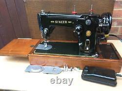 Belle Zig Zag Vintage Singer Automatique Swing-needle 306, 306k Machine À Coudre