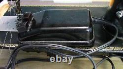 Black Antique Singer Machine À Coudre & Pedalpre-ownedgreat Qualityheavy Duty