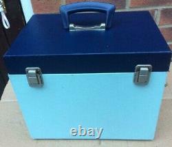 Blanc Vintage Chanteur 221, 221k Portable Poids Plume Machine À Coudre