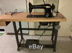 Chanteur 31-15 Tailleurs Industrial Antique Treadle Machine À Coudre Sews Forte