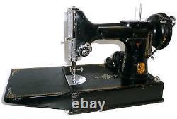 Chanteur Antique 221 Machine À Coudre Poids Plume 220v 230v