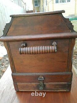 Machine À Coudre Ancienne Singer 28k, Manivelle À Main, Étui D'origine, 13707155