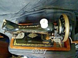 Machine À Coudre Antique /vintage Hand Cran Singer Y7641303
