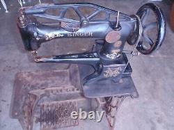 Machine À Coudre En Cuir Antique Singer 29-4 G 2121806