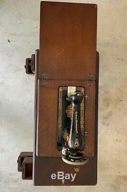Machine À Coudre Singer Antique Treadle 1904 Modèle 27-4