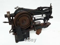 Machine À Coudre Singer Rare 1929 69-22 Pour L'identification Tags Chaussures Blucher