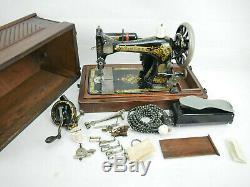 Machines À Coudre Singer 28 K 1904 Objets De Collection Antique
