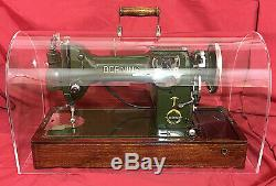 Plexiglas Crystal Clear Plexiglas Dôme Couvercle Machine À Coudre Singer Case 15 201 66