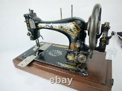Rare Ancienne Machine À Coudre Singer 1895 Collectable 12556021