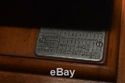 Rare Antique 1902 Chanteur Modèle 24-30 Machine À Coudre Withmodified Moteur
