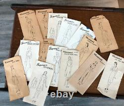 Rare Antique Vintage Singer 20 Jouet Petit Enfant Machine À Coudre W Doll And Pattern