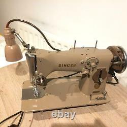 Rare Singer 216g Vintage Zig Zag Machine À Coudre Électrique