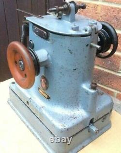 Rare Vintage Singer 46k54 Fur, Sheepskin Industrial Sewing Machine Tête Seulement