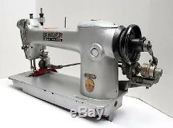 Singer 241-12 Lockstitch 1-aiguille Extracteur Industriel Machine À Coudre Tête Seulement