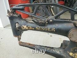 Singer 29k1 Cobbler En Cuir Machine À Coudre Industrielle