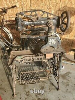 Singer 29k1 Cordonnier En Cuir Machine À Coudre Industrielle