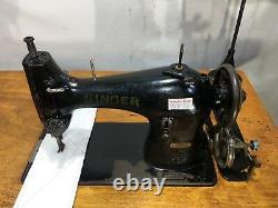 Singer 95k40 Antique Lockstitch Machine À Coudre Industrielle