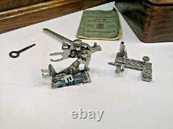 Superbe Antique Old Vintage Hand Crank Singer 66 Machine À Coudre Modèle 66