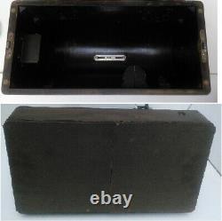 Vintage 1924 Singer 99k Machine À Coudre Avec Bentwood Case Antique Decor 1920's