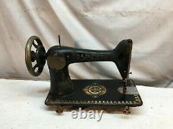 Vintage Antique 1900 Singer Cast Iron Industriel Seulement La Tête De Machine