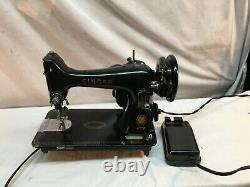 Vintage Antique 1900 Singer Cast Iron Sewing Machine Head Only 99 Working