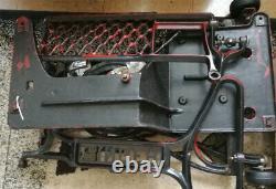 Vintage Singer 29-4 29k-51 Machine À Coudre Stand De Base En Fonte