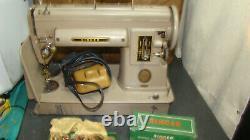 Vintage Singer 301a Machine À Coudre Bon État, Long Bed S/n Na373875