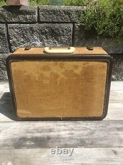 Vintage Singer 301a Machine À Coudre Grand État! Pièces Jointes Originales