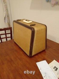 Vintage Singer 301a Machine À Coudre Grande Condition! Boîtier Original S/n Na387599