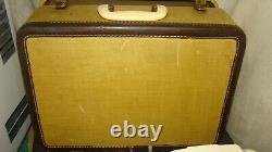 Vintage Singer 301a Machine À Coudre Nice Condition, Boîtier Original S/nb115451