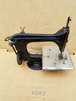 Vintage Singer Chain Stitch # 24 Machine À Coudre 1910